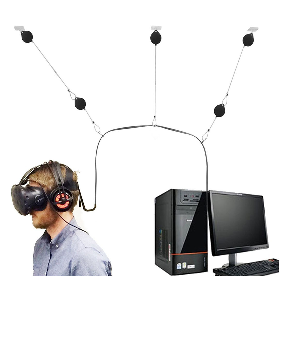 Cable Management For Virtual Reality Glasses Vietnam