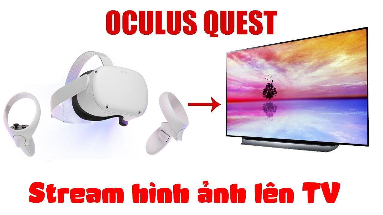 Oculus Quest Cast To Tv