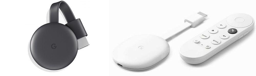 Chromecast 3 Vs Chromecast With Google Tv