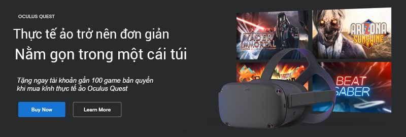 Khuyen Mai Oculus Quest