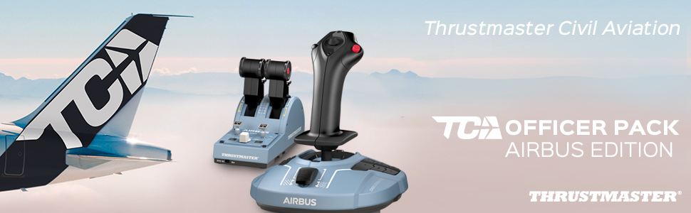 Cần Lái Máy Bay Thrustmaster Tca Officer Pack Airbus Edition