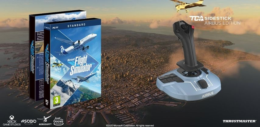 Cần Lái Máy Bay Thrustmaster Tca Sidestick Airbus Edition