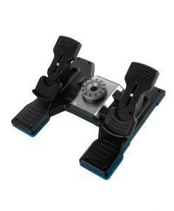 Ban Dap Logitech Flight Rudder Pedals 2