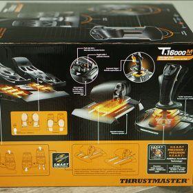 Mặt Cạnh Bên Full Set Bộ Cần Lái Máy Bay Thrustmaster T.16000m Fcs Flight Pack