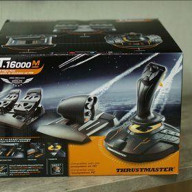 Mặt Trước Full Set Bộ Cần Lái Máy Bay Thrustmaster T.16000m Fcs Flight Pack