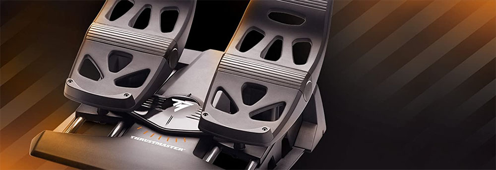 Phu Kien Ban Dap Thrustmaster Rudder Pedals