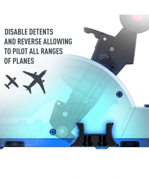 Bướm Ga Thrustmaster Tca Quadrant Airbus Edition 8
