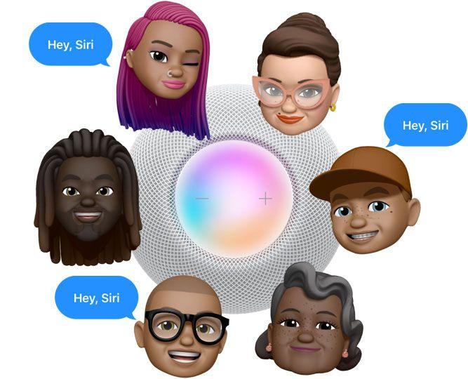 Siri Nhận Dạng Tối đa 6 Giọng Nói