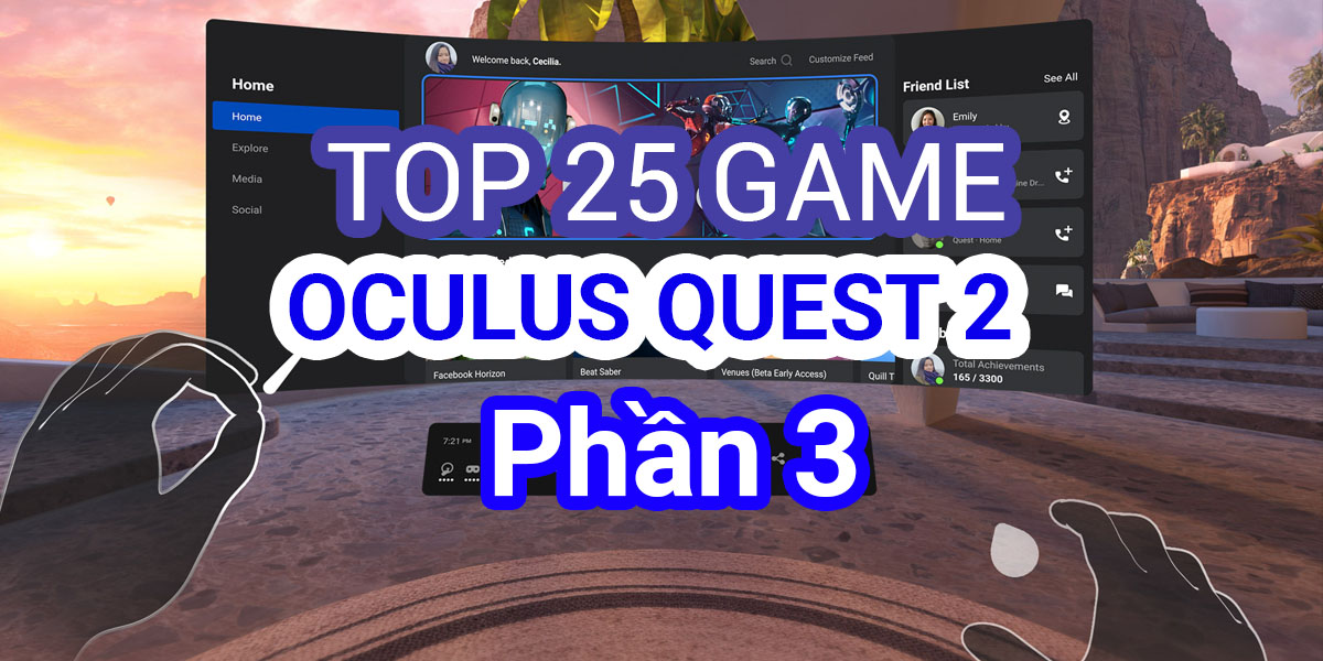 Top Game Hay Nhat Oculus Quest
