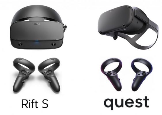 Oculus Rift S Vs Oculus Quest