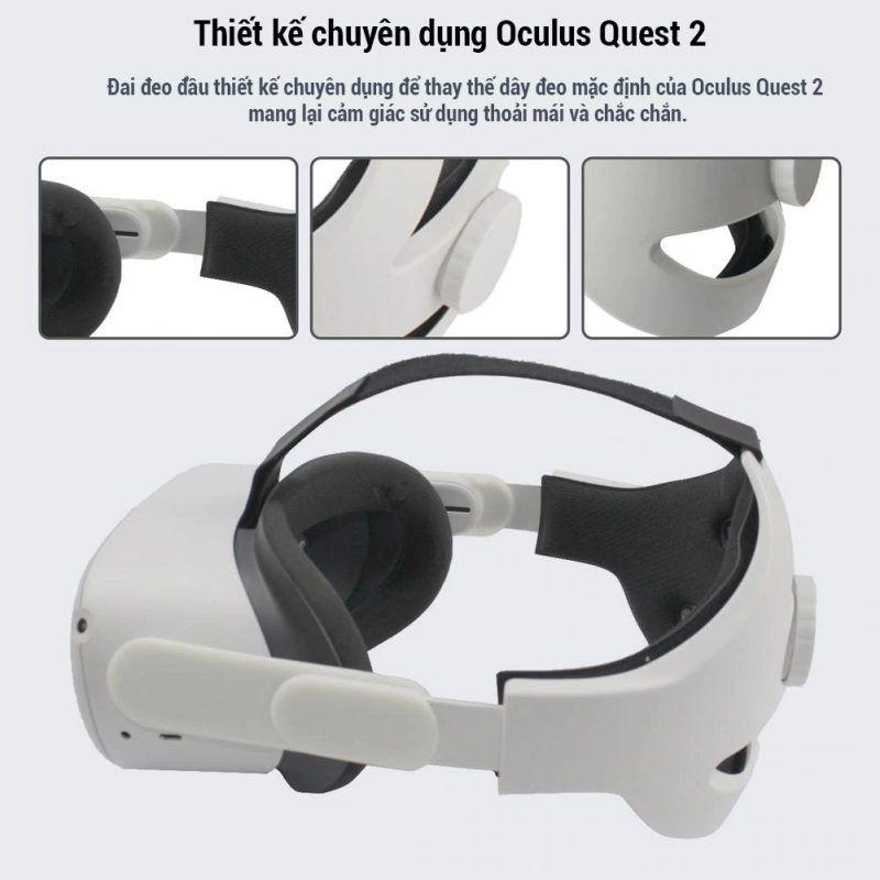 Bộ Head Strap Drstrap Oculus Quest 2