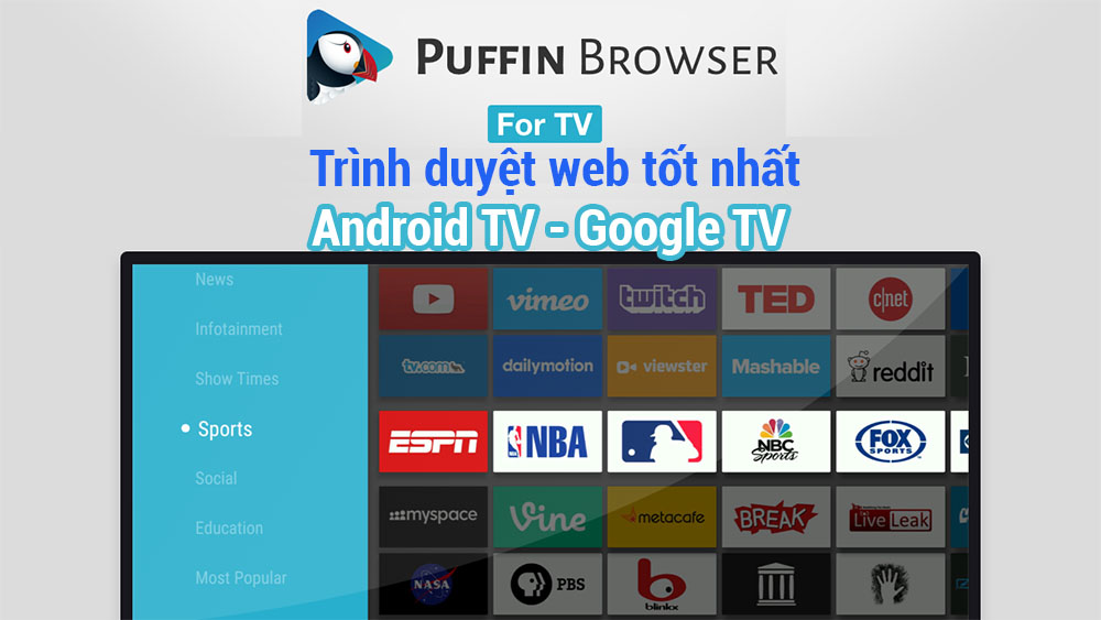 Trình Duyệt Android Tv Google Tv