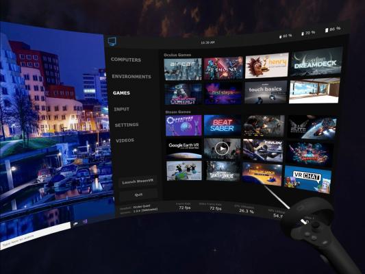 Games Tab Virtualdesktop
