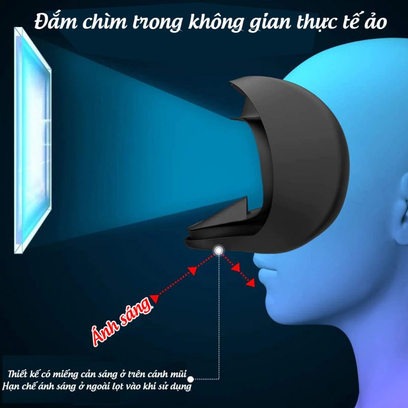 Mặt Nạ Silicone Cản Sáng Oculus Quest 2