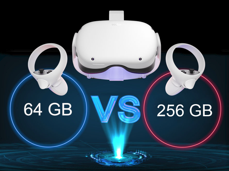 So Sanh Oculus Quest 2 64gb Vs 256gb