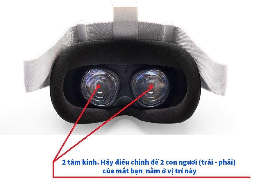Cách đeo Kính Oculus Quest