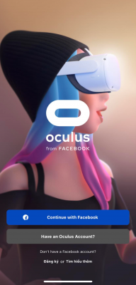 Giao Diện ứng Dụng Oculus