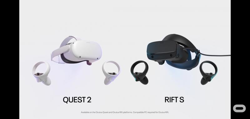 Oculus Rift S Vs Oculus Quest 2 ( Controller )