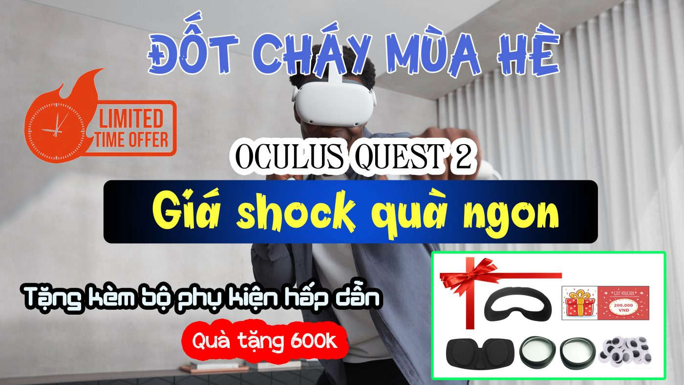 Banner Khuyến Mãi Oculus Quest 2