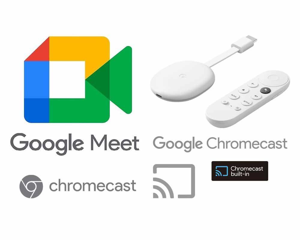Truyền Google Meet Lên Google Chromecast